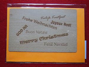madera-Tarjeta-Postal-Carta-aus-autentica-con-sobre-034-Feliz-Navidad-034-OBLICUA-BU