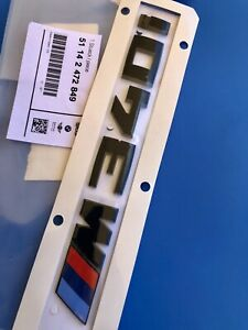 Logo BMW M340I 340i Serie 0.1oz20 F30 Badge Emblem Genuine 167790270622ft M3 OEM