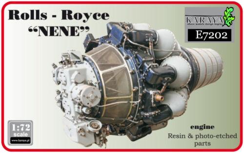 "Karaya 1//72 Rolls-Royce /""Nene/"" British Jet Resin Engine # E7202"