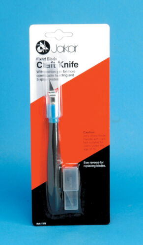 Jakar Craft Cutter Cushion Grip Safety Cap General Purpose Cut 7376