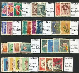 Albania-1961-62-Run-of-10-Commemorative-Sets-unmounted-mint-2017-05-25-15