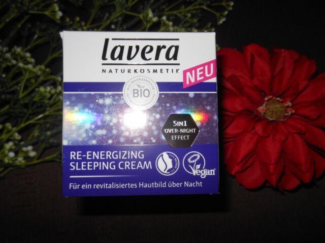 (17,20€/100ml) Lavera RE-ENERGIZING Sleeping Cream 50 ml
