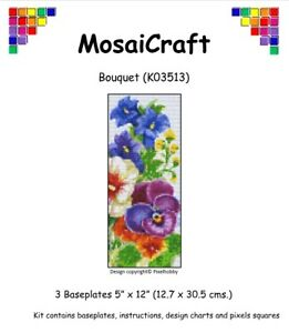MosaiCraft-Pixel-Craft-Mosaic-Art-Kit-039-Bouquet-039-Pixelhobby