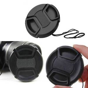 1Pc 52 mm Front Lens Cap Center Snap on Lens Caps For DSLR Camera Plastic Sales