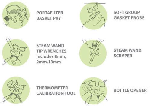 Pallo Caffeine Wrench Original Multi-Function Barista Tool