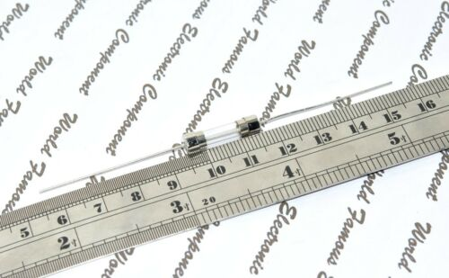 Littelfuse  4A 125V 5x20mm Pigtail Glass Fuse 238004 2pcs ME600