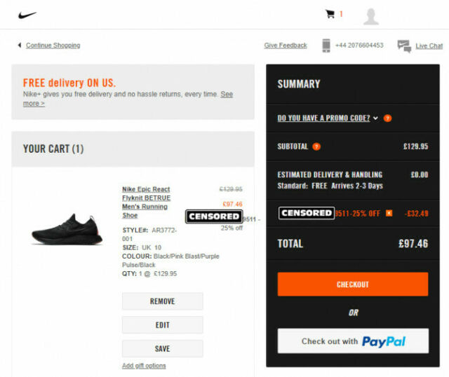 good best sell buy cheap NIKE 25% DISCOUNT CODE - EU/UK ONLY - READ DESCRIPTION CAREFULLY