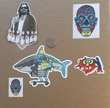 TYLER STOUT STICKET SET OF 5 MISC. STICKERS RARE SOLD OUT VARIOUS SIZES SET 4 !!