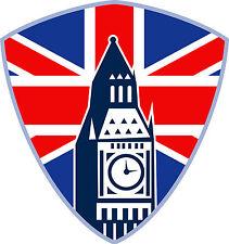 Premium auto pegatinas londres big ben en Union Jack emblema Pegatina Sticker nuevo