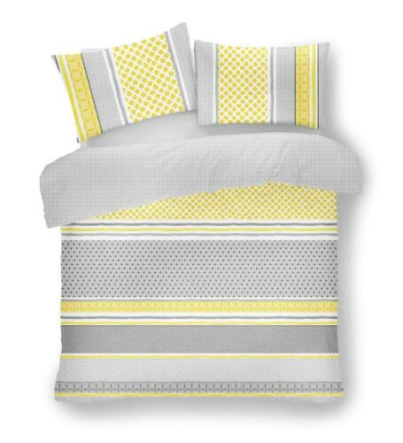 Luxurious Charter Stripes Design Modern Duvet Cover Sets Reversible Bedding Sets