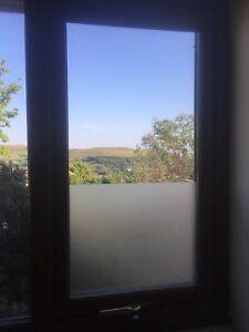 Givre Opaque Plain Privacy Solaire Obscur Fenêtre Film En Verre-air/sans Bulles-afficher Le Titre D'origine