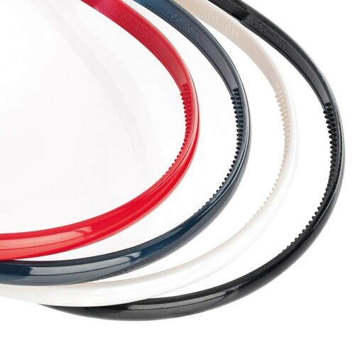 4 Plastic Aliceband Headband Hair School Work Hair Band Red Blue Black White