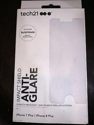 brand new fc4ca 1fad6 New Tech21 Impact Shield Anti Glare Screen Protector For iPhone 7 ...