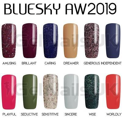 bluesky autumn and winter collection 2019 uv led soak off