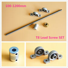 T8 Lead Screw Set Lead 28 Amp Nut Amp Shaft Coupler Amp Vertical Bearing Up To 1200mm