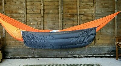 Sale 20% off! Hammock underquilt, down 650fp ultralight ripstop backpacking
