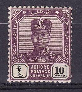 DB427-Johore-1912-10c-Dark-Purple-amp-Black-SG-84