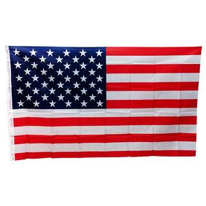 Flagge Fahne 90x150 cm USA Amerika amerikanische Nationalflagge Nationalf haks