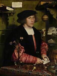 Pintura-retrato-Holbein-vendedor-Georg-Gisze-cartel-Art-Print-BB12541B