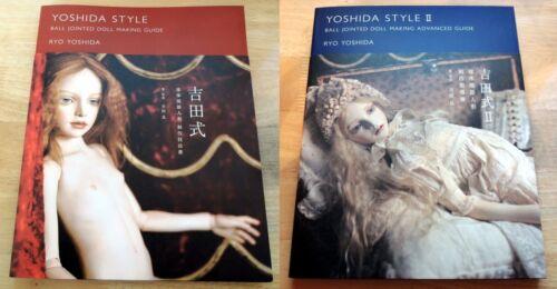 Yoshida Style Ball Jointed Doll Making Technical Process Book Set F//S Japan New