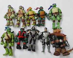 Teenage Mutant Ninja Turtles Shredder Toy : Teenage mutant ninja turtles shredder donatello leonardo