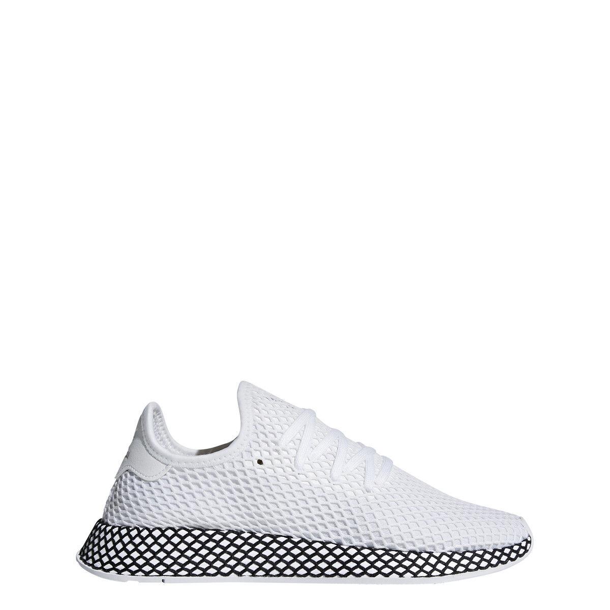Adidas Uomo DEERUPT RUNNER White/White/Nero - B41767