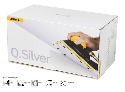 Mirka Q.Silver Schleifstreifen Klett 115 x 230 mm 10 x gelocht freie Kornwahl