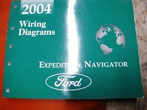 2004 FORD EXPEDITION LINCOLN NAVIGATOR FACTORY WIRING ...