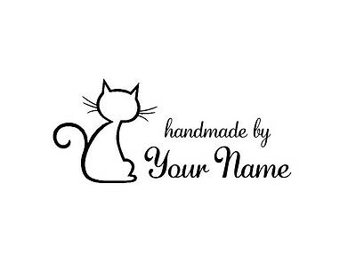 UNMOUNTED PERSONALIZED SCRAPBOOK NAME CRAFT CUSTOM RUBBER STAMP H58
