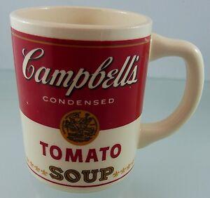 CAMPBELL SOUP COFFEE MUG TOMATO SOUP | eBay