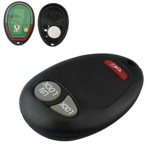315MHZ 3 Buttons Keyless Entry Remote Key Fob for L2C0007T Chevrolet GMC Hummer