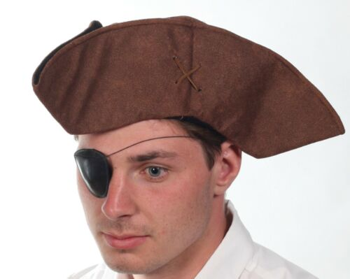 Pirate Accessories Fancy Dress Hat Sword Beard Flag Eye Patch Book Covers Sash