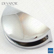 Di Vapor (R) 7.3mm Shower Curved Stainless Steel Floating Shelf Bracket Clamp