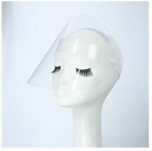 Visier Schutz Maske Schild Gesicht Voll Klarsicht Durchsichtig Kunststoff starr