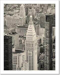 Image Is Loading New York City Manhattan Downtown Art Print Home