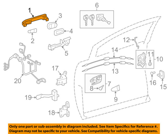 Genuine Toyota 48531-80260 Shock Absorber Assembly