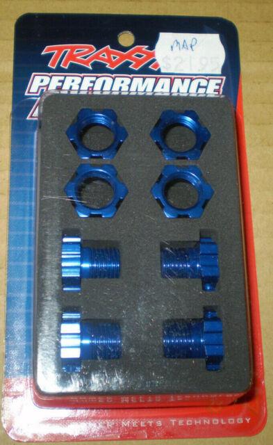 Traxxas 5353X Max Revo Wheels Hubs+Hex Kit 17mm(4) New Nip