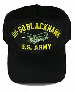 US-ARMY-UH-60-BLACKHAWK-HELICOPTER-HAT-CAP-VETERAN-ROTARY-WING-ATTACK-PILOT