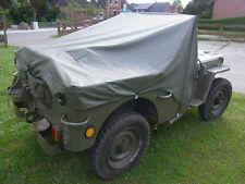 RAIN COVER Willys Jeep MB PERSENNING REGENVERDECK Ford GPW Hotchkiss Regenschutz
