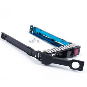"2.5/"" SFF SATA SAS HDD Tray Caddy For HP Proliant DL360E G8 Gen8 668814-001 New"