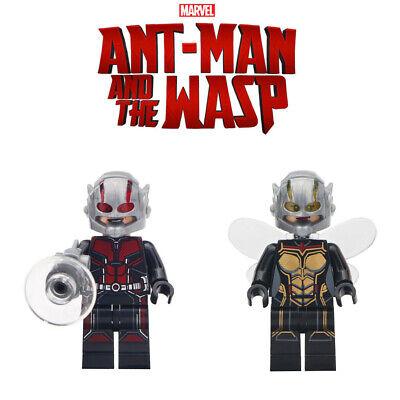 Wasp Minifigure Avengers Endgame LEGO MOC Minifigure Final Battle Theme