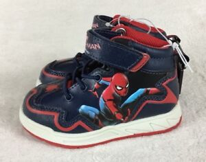 79bd9ba04d3 Details about Marvel Spider-Man Boy's Homecoming Hiker Boots Sneakers  Toddler Size 7 New!