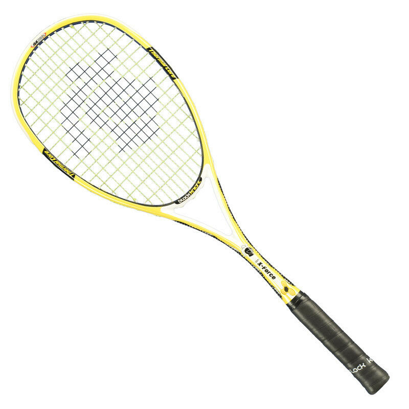 negro Knight Ion X-force Amarillo Squash Racquet