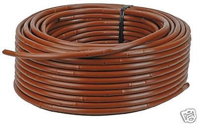 Linea D'irrigazione A Goccia 16mm X100mts 2.3lph @ 33cm Spaziatura Per Aiuole Fiorite- Sangue Nutriente E Regolazione Dello Spirito