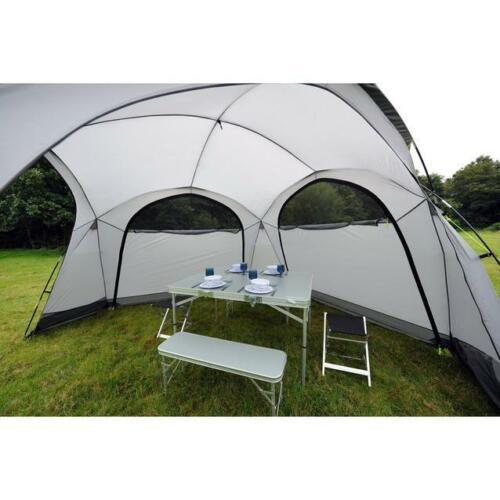 3.5m x3.5m RRP £250 BNIB Eurohike Dome Event Shelter garden Gazebo inc 4 walls