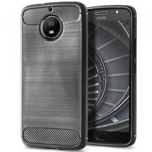 Bumper-Protection-Coque-Pour-Motorola-Moto-G5s-Plus-Poid-Plume-Fibre-de-carbone