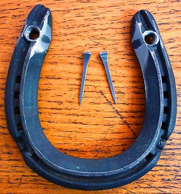REAL HORSESHOES with 2 Horse Shoe nails to fix to door Lucky horse shoe Wedding