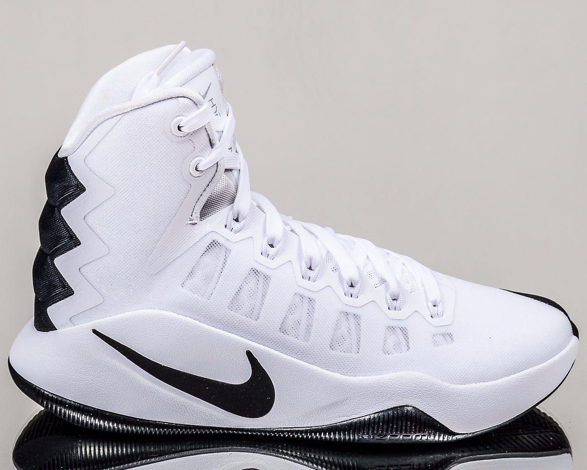 Nike 844391-110 Hyperdunk 2016 White Black Basketball Shoes Womens Sz 12