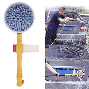 Car Wash Switch Water Flow Foam Car Washer Brush Rotating