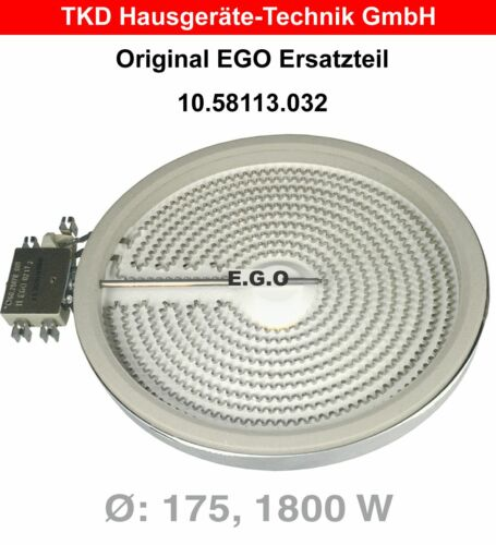 10.58113.032 NEU # Kochplatte für Bosch Cerankochfeld Original E.G.O